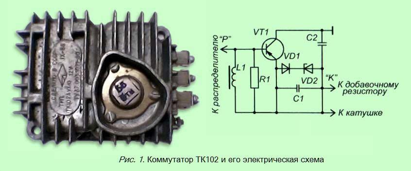 коммутатор ТК102