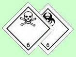опасные грузы класса 6